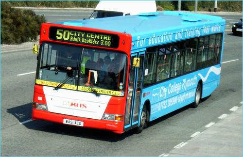 055 WA51ACO Plymouth Citybus