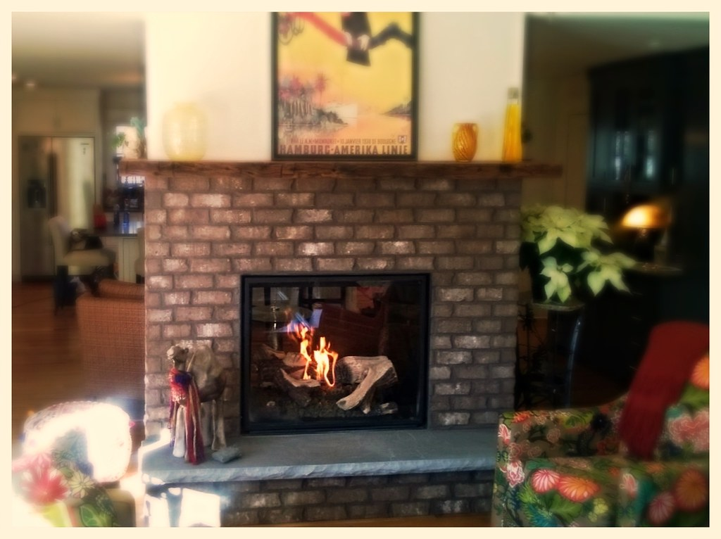 Town & Country TC36 See-Thru Direct Vent Fireplace. Signal Mtn. Tn.