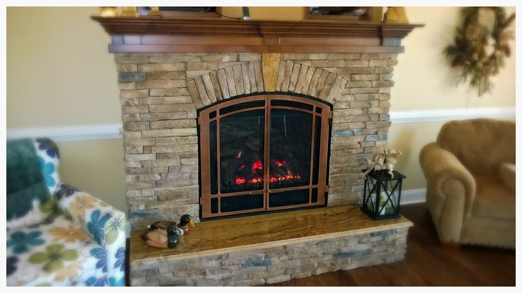 Mendota DXV-45 Direct Vent Fireplace. Chattanooga, Tn.