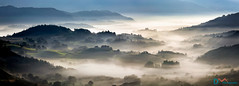 Rolling Hills of Little Langdale (Dave Massey Photography) Tags: littlelangdale panorama cumbria lakedistrict mist misty autumn hills
