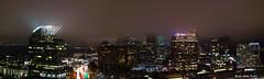 IMG_3975-Pano.jpg (glennrossimages) Tags: atlanta buckhead night fog georgia skyline citiscape urban light