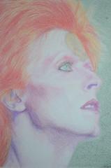 David Bowie portrait (Claudia De Facci) Tags: davidbowie ritratto portrait art arte drawing disegno artist artista music musica