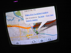 Google Maps on the Wii Internet Channel