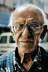 (Grace_L) Tags: old portrait people man face digital israel telaviv nikon d70s highcontrast yakov