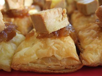Feuilletés au foie gras