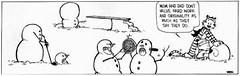 Calvin's Snowmen (Amboire) Tags: snowman funny comic image humor cartoon picture calvin humour snowmen calvinandhobbes hobbes ambergraham amboire