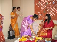 2006_10_07_Pinky_SreeMantham0049 (ashwin_to) Tags: kolam rangoli indianbabyshower sreemantham