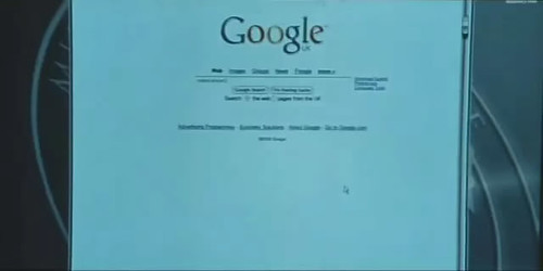 Google in 007 movie