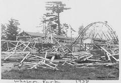 Whalom Hurricane 1938 - E2 (Whalom Memories) Tags: hurricane 1938 amusementpark devastation naturaldisaster lunenburg whalompark whalom longislandexpress whalommemories whalomparkownershipprogram
