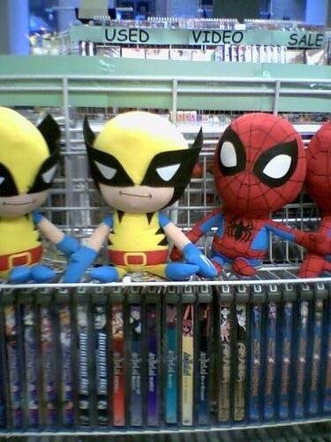 Baby Stuffed Wolverine