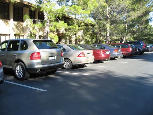 sandhill parking lot