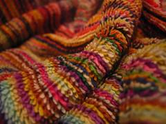 struggle (nadiobolis) Tags: macro rayas colors lines colorful colours towel colores catchy struggle lineas wrinkled toalla arrugado