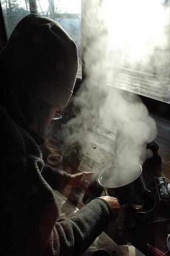 Breakfast at Gozen, Okutama