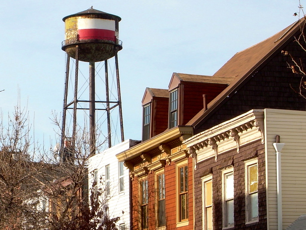 water tower, greenpoint