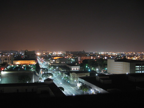 los angeles @ night