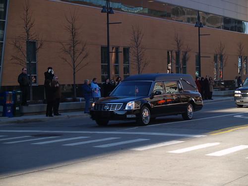 Motorcade to Grace Episcopal Church - January 3, 2007