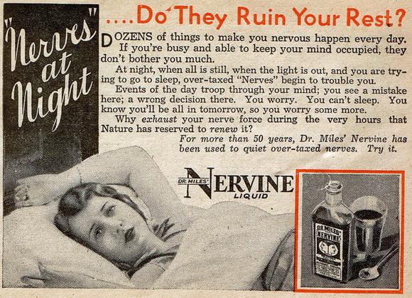 Dr. Miles' Nervine Liquid ad