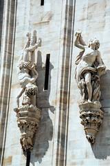 Hiphop Gargoyle (bobmendo) Tags: 2003 family italy statue cathedral gargoyle hiphop duomo breakdance ilduomo mendelsohn