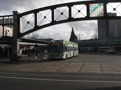 EmX at Eugene Station