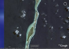 Makin Island - Google Earth-Digital Globe Image Central Detail (1-37,500)