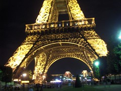 Eiffel Tower At Night (Joe Shlabotnik) Tags: paris eiffeltower 2006 toureiffel myfave faved july2006 brokentimestamp heylookatthis