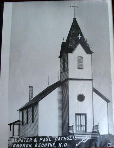 Bechyne old church