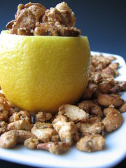 Lemon Pepper Glazed Cashews