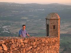 Vertigo (Jose Ferreira Jr.) Tags: light sunset castle portugal alentejo marvo