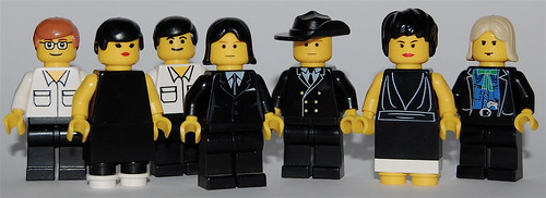Minifig Bands # 7: Arcade Fire