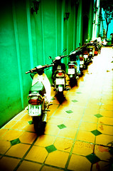fly_by_hanoi193 (navelless) Tags: lomo lca xpro lomography asia crossprocess vietnam motorcycle southeast hanoi bigcalm navelless