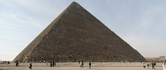 Pyramide of Cheops panorama (gert_vervoort) Tags: africa travel vacation panorama canon geotagged vakantie pyramid egypt gimp powershot autopanosift afrika gps pyramide giza egypte gizeh cheops hugin enblend s3is