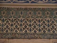 Antara Corak2 Yg Terdapat Pd Jubin2 Di Dlm Blue Mosque, Istanbul, Turkey