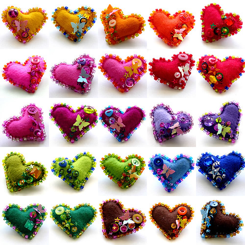 Colorful Hearts! by Pavoreal.