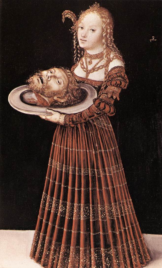 Rate the Dress: Salome by Cranach the Elder - The Dreamstress