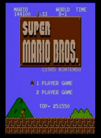 Mario on Wii