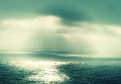 I was lost at sea. A minimalist seascape (s0ulsurfing) Tags: ocean lighting blue light sea cloud sunlight colour green art topf25 water clouds wow spectacular lost boat amazing fantastic bravo perfect mood alone ship moody gorgeous magic acid 100v10f spotlight special ethereal lonely rays tada solitary tones magical beams sunbeams bluegreen 2007 spotlights outstanding instantfave specnature s0ulsurfing bonzag p1f1 123f50 30faves30comments300views coastuk