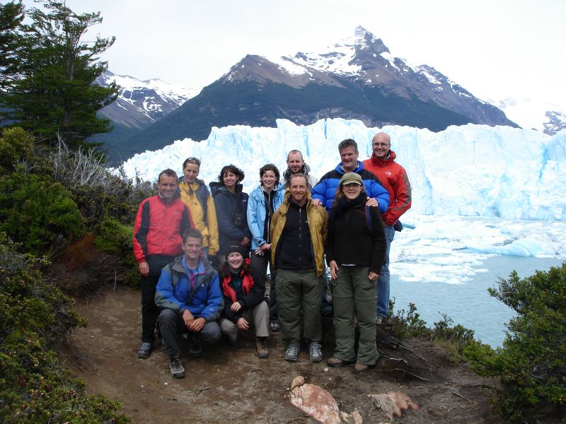 Group at Calafate