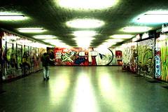 Deco (stoffen) Tags: city urban underground lights tube decoration deco td