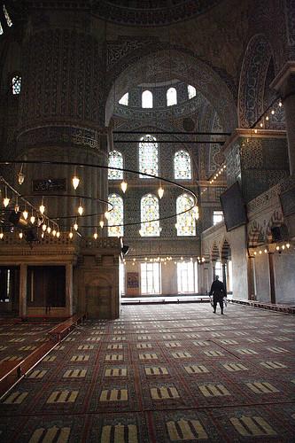 藍色清真寺大廳