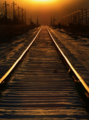 I'll Be There (There is No Spoon Photography) Tags: sunset traintracks explore distillery orton beautifulearth abigfave canon400d theperfectphotographer jediphotographer theartlair