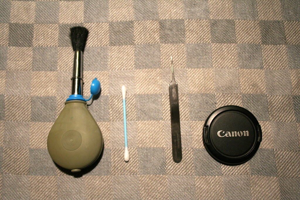 The equipment I used today for Sensor Cleaning - IMG 3805