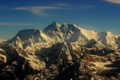 Mount Everest, Chomolungma, Goddess Mother of the World (Karnevil) Tags: nepal mountains kathmandu himalaya mountainshimalaya elevation85009000m specnature summitmteverest altitude8844m abigfave cafekadonature