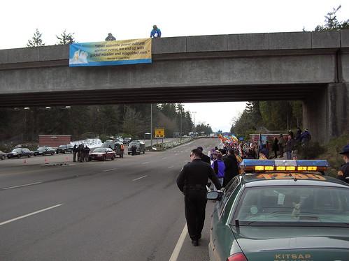 Bangor Main-Gate Overpass MLK Banner