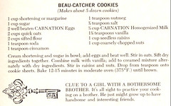 Beau-Catcher Cookies