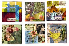 2 Inch Squares (QueenofTarts) Tags: 2 art collage inch squares squared