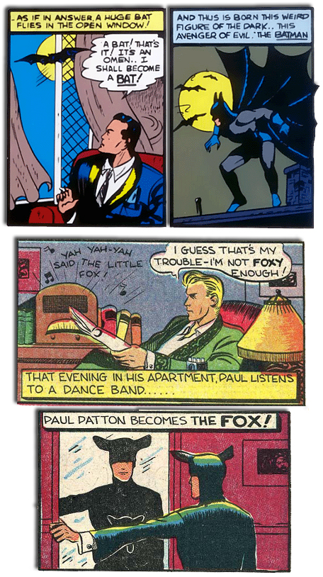 Batman Fox origins