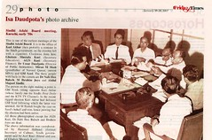 Sindhi Adabi Board Meeting in The Friday Times (Daudpota) Tags: pakistan photography photo newspaper archive sindh tft developingcountry southasia sindhis isadaudpota