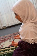Pray (mehmetakifguler) Tags: girl scarf kid muslim islam pray hijab modesty dua ocuk kz slam maaallah mslman bart