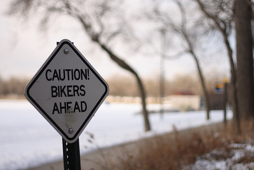 CAUTION! BIKERS AHEAD 2733