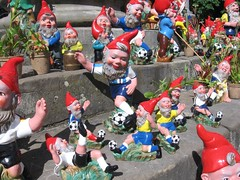 Soccer Dwarfs Play The Game